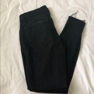 Joe's Black Denim Skinny Jeans